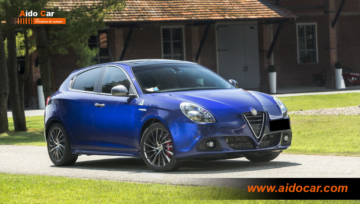 Location alfa romeo giulietta casablanca copie 7