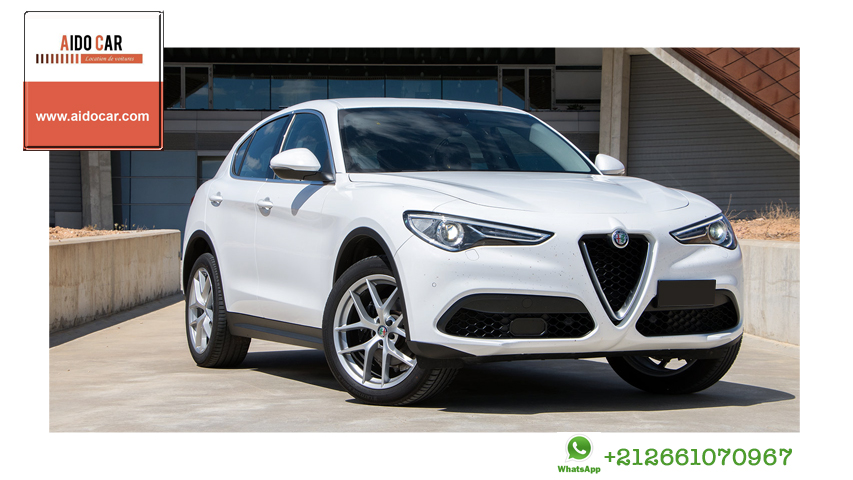 Location alfa romeo stelvio casablanca 1