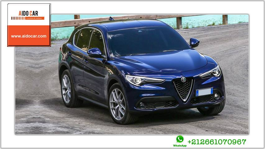 Location alfa romeo stelvio casablanca 2