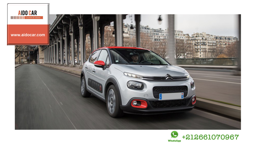 Location citroen c3 a casablanca 1