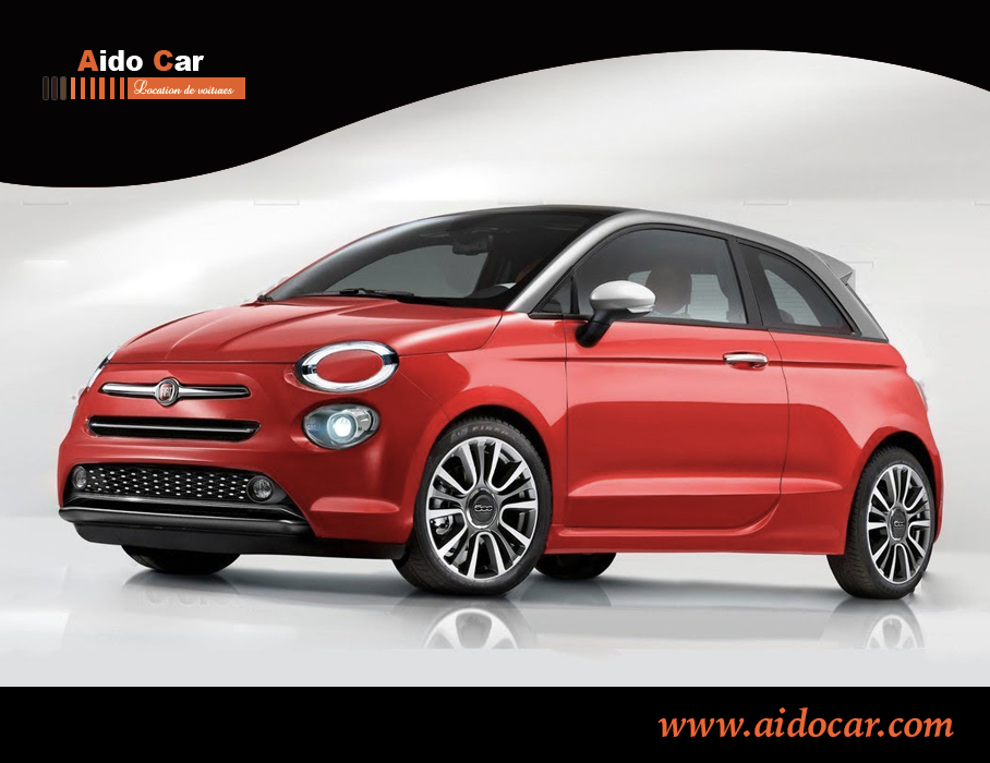 Location fiat 500 2019 a casablanca