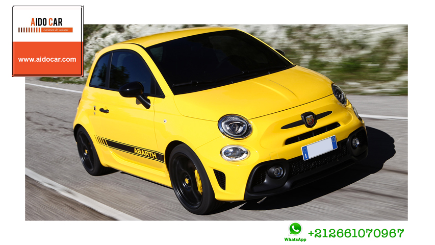 Location fiat 500 a casablanca 1