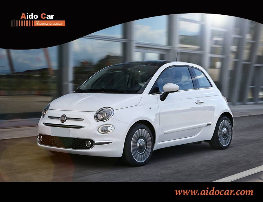 Location fiat 500 automatique a casablanca 7f
