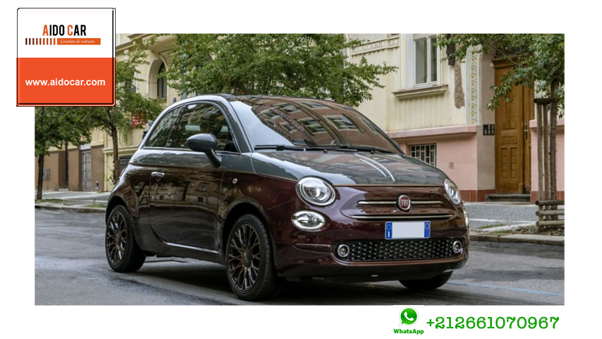Location fiat 500 casablanca 1