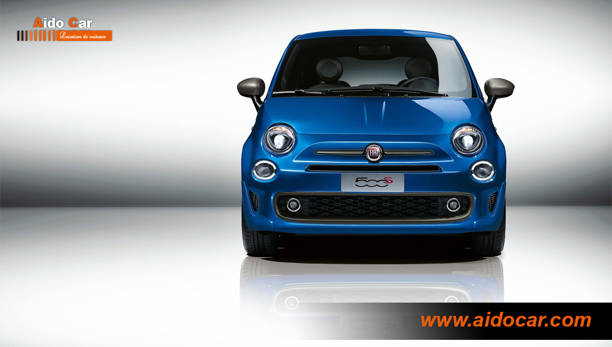 location fiat 500 abarth automatique casablanca. Black Bedroom Furniture Sets. Home Design Ideas