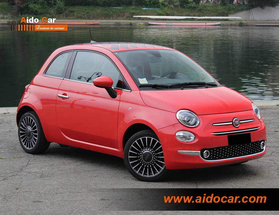Location fiat 500 casablanca 2