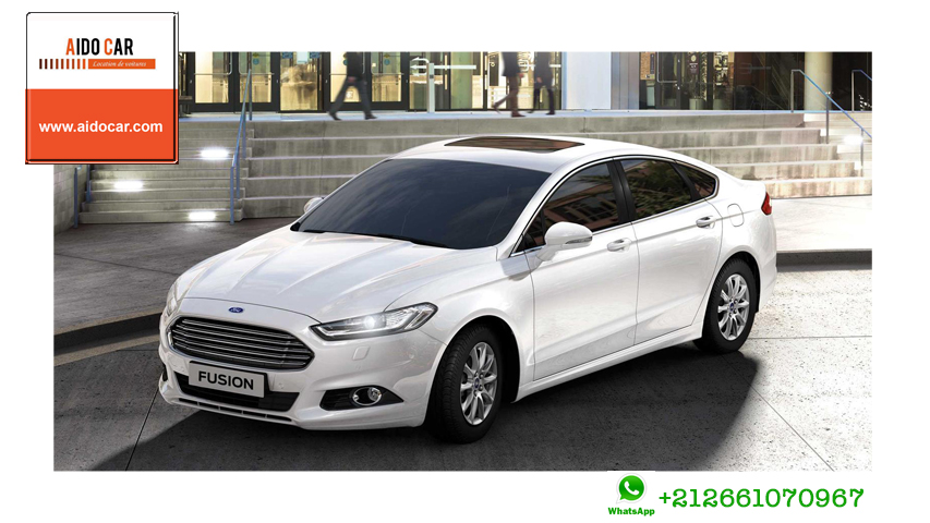 Location ford fusion a casablanca