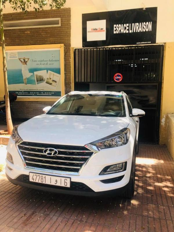 Location hyundai tuscon a casablanca