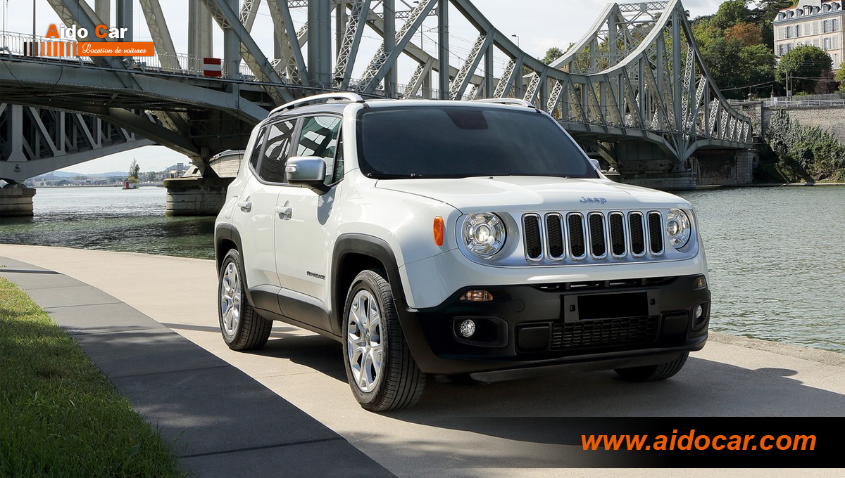 Location jeep renagade casablanca