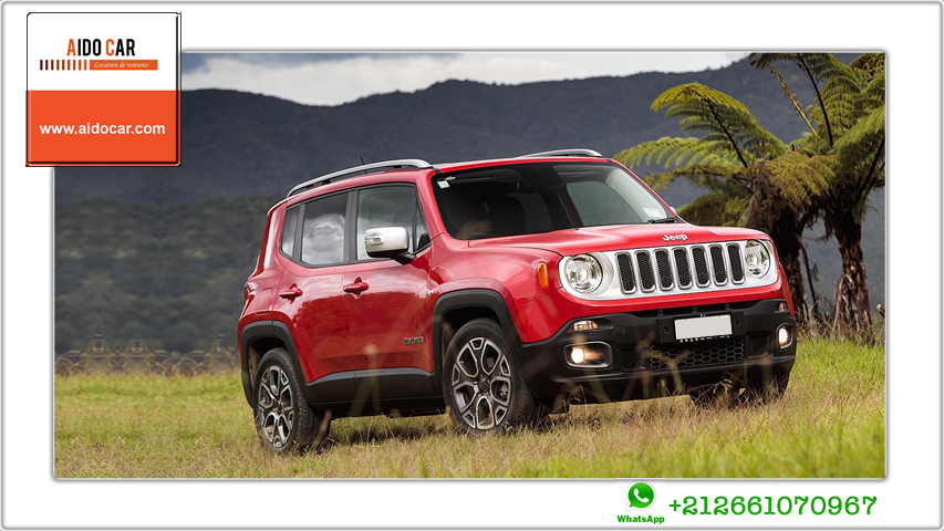 Location jeep renegade a casablanca 1