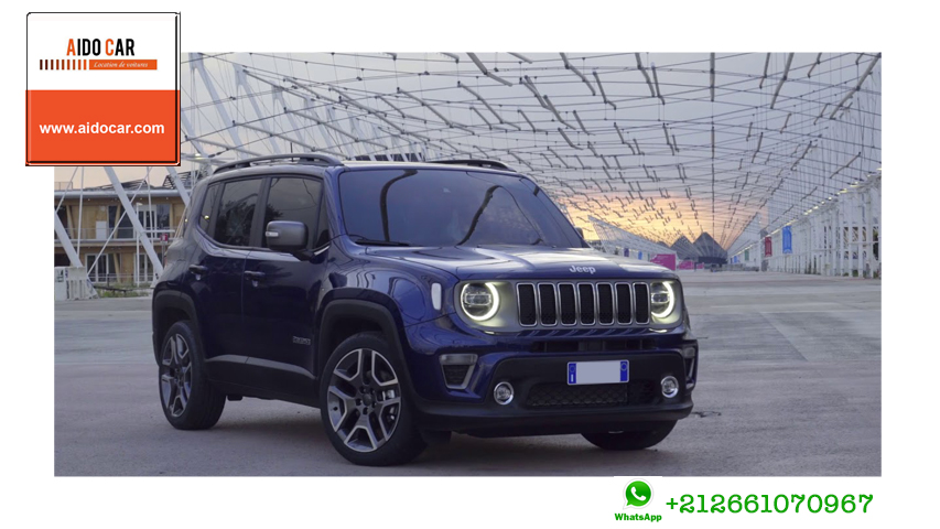Location jeep renegade casablanca 1