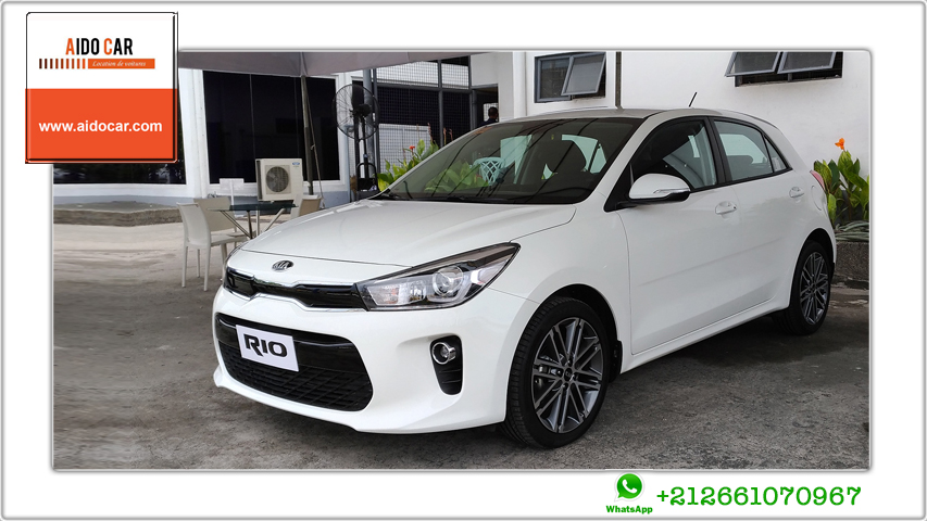 Location kia rio a casablanca