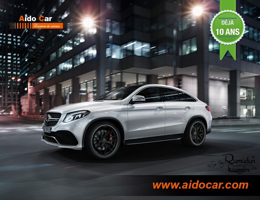 Location mercedes gle amg casablanca