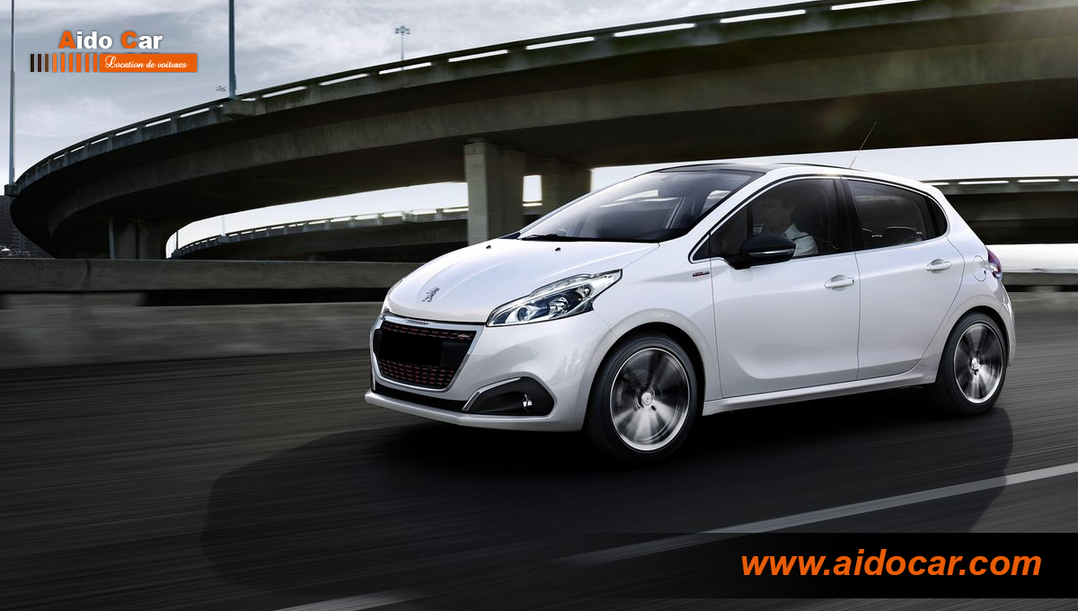 Location peugeot 208 casablanca 1