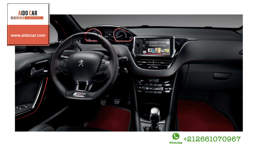 Location peugeot 208 casablanca 3