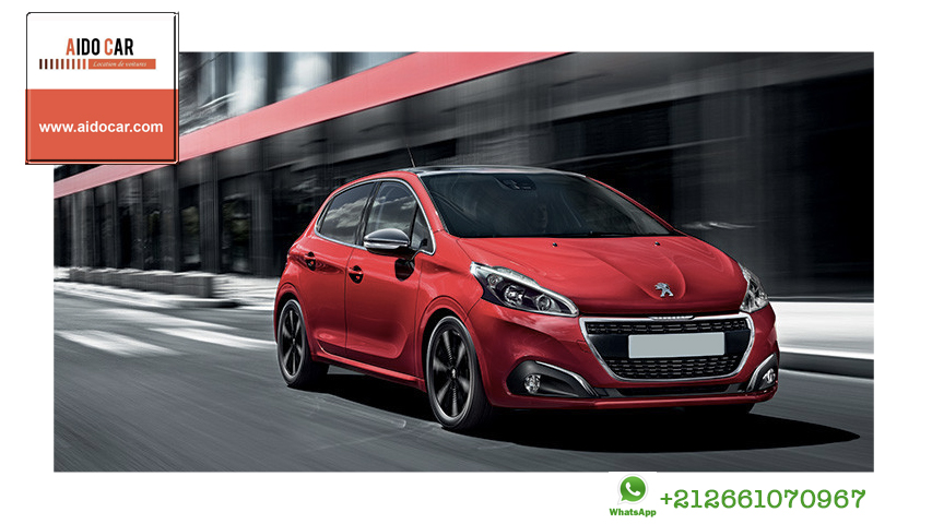 Location peugeot 208 casablanca 4