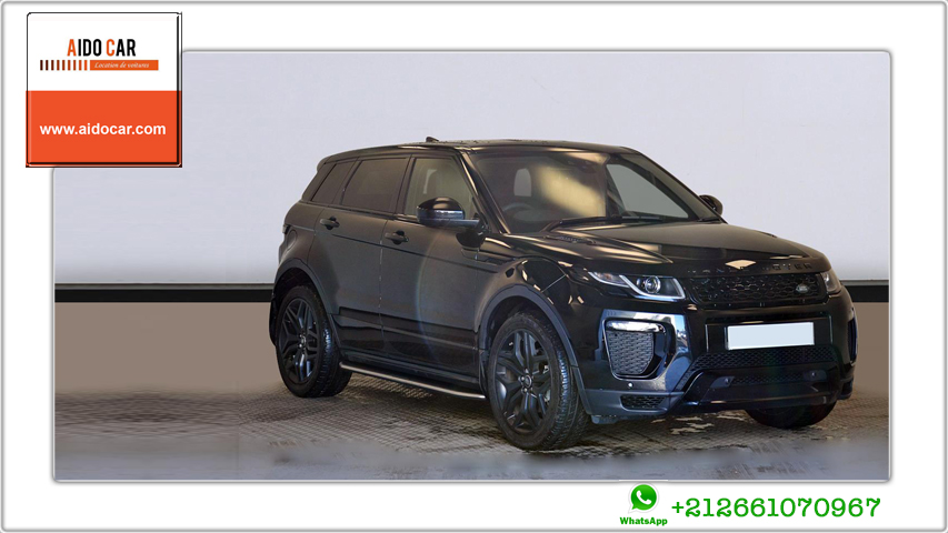 Location range rover evoque a casablanca 1