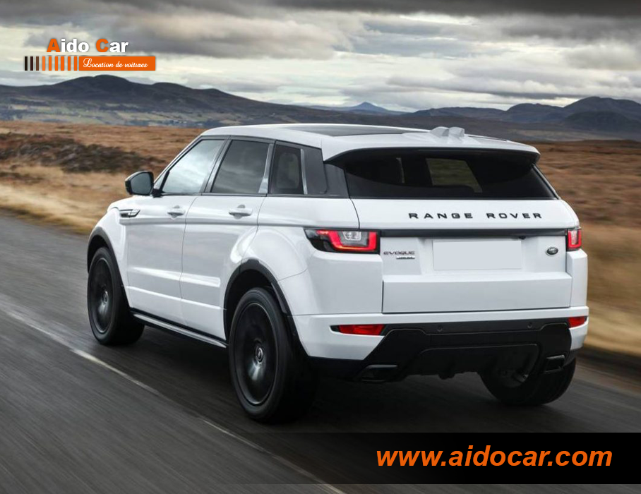 Location range rover evoque casablanca 2