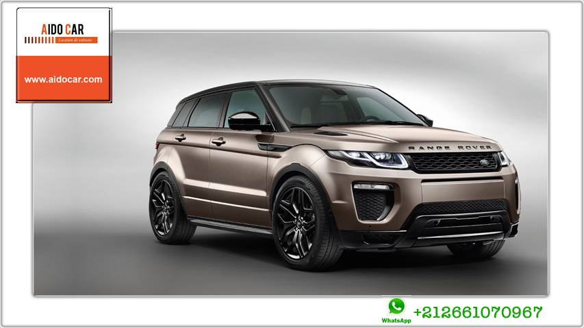 Location range rover evoque dynamic casablanca 1