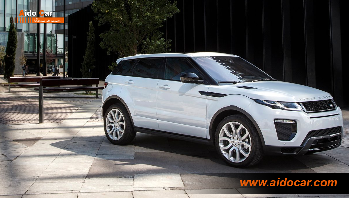 Location range rover evoque dynamic casablanca