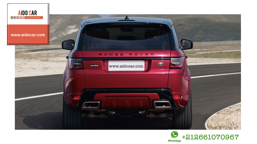 Location range rover sport casablanca 2