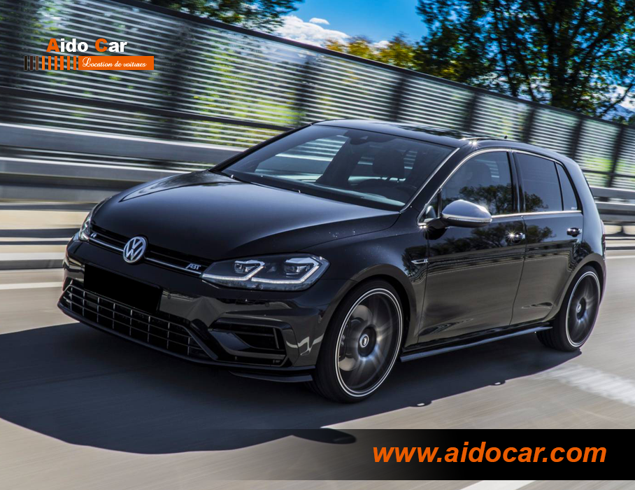 Location volkswagen golf 7 casablanca