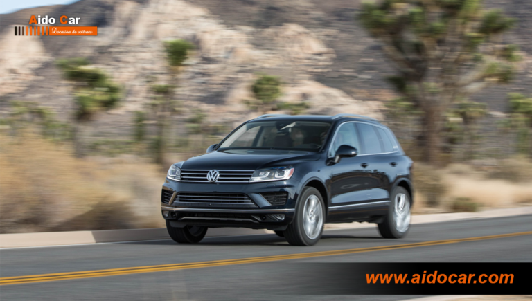 Location volkswagen touareg casablanca 1